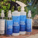 Assortment of CALI 80% Alcohol Hand Sanitizer 8oz and 16oz Spray Bottle Assortment