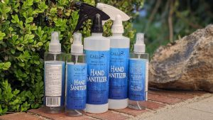 Assortment of CALI 80% Alcohol Hand Sanitizer 8oz and 16oz Spray Bottle Assortment