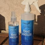 CALI 80% Alcohol Hand Sanitizer 8oz and 16oz Spray Bottles